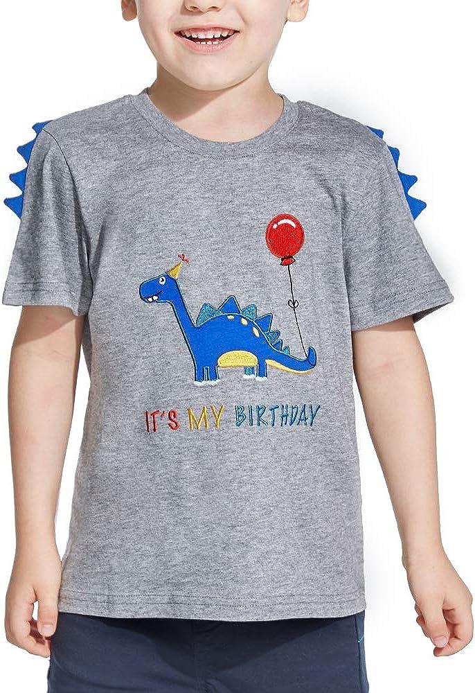 Geburtstag Partyzubeh/ör Geschenk AMZTM Dinosaurier Geburtstag T Shirt 2