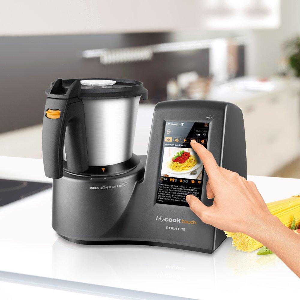 Taurus Mycook Touch - Robot de cocina por inducción: Amazon.es: Hogar