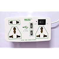 Hilex 3.6 m Wire Extension Board with 3 Socket, 2 USB Charging, 1 Switch