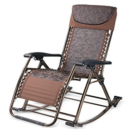 Rocking Chairs Multifunctional Health Chair Lounge Chair for The Elderly Folding Chair Living Room Office Chair