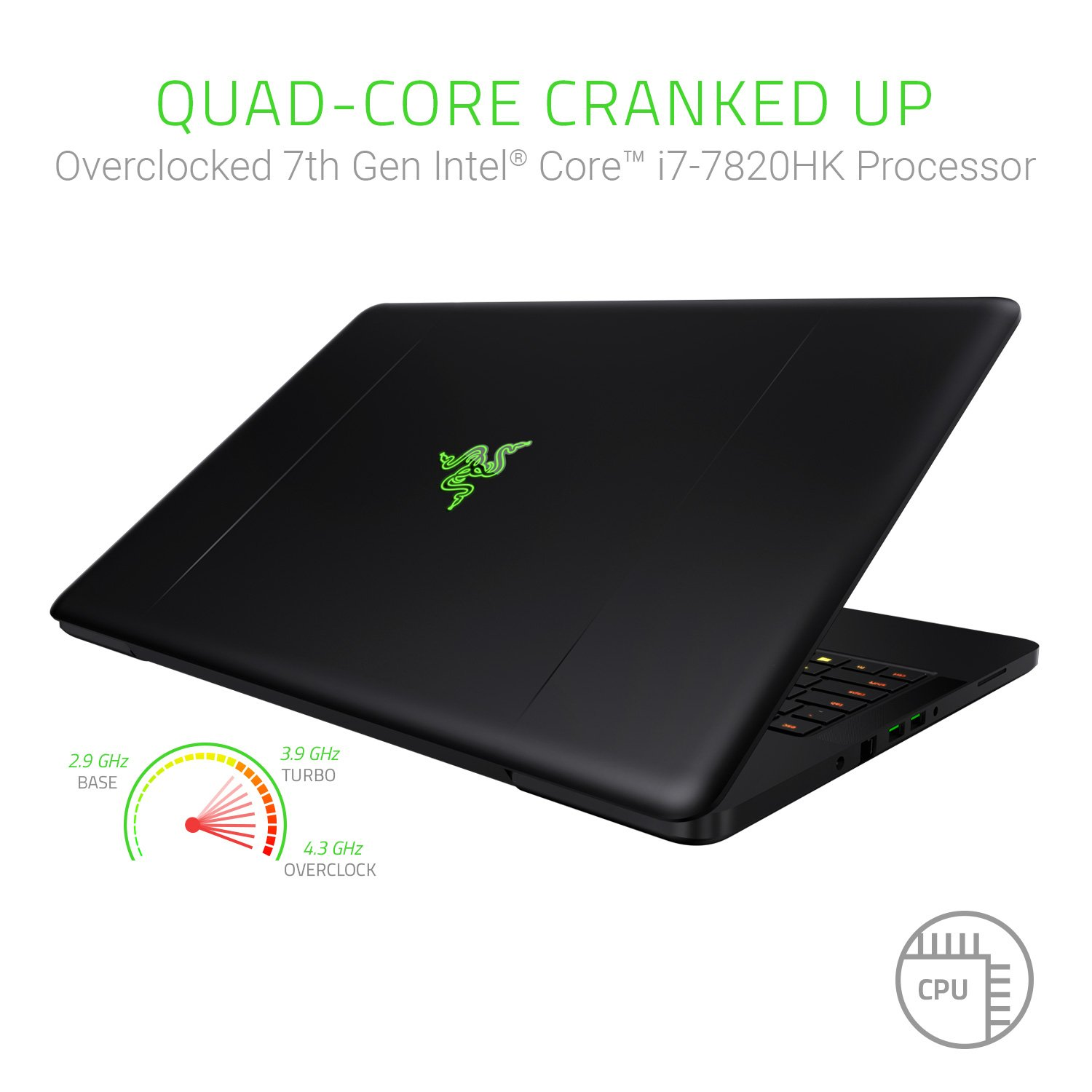 Razer Blade Pro 17: Gaming Laptop - 4K Touchscreen - ULP Mechanical  Keyboard - Intel Quad-Core Overclocked i7-7820HK - NVIDIA GeForce GTX 1080  – DDR4
