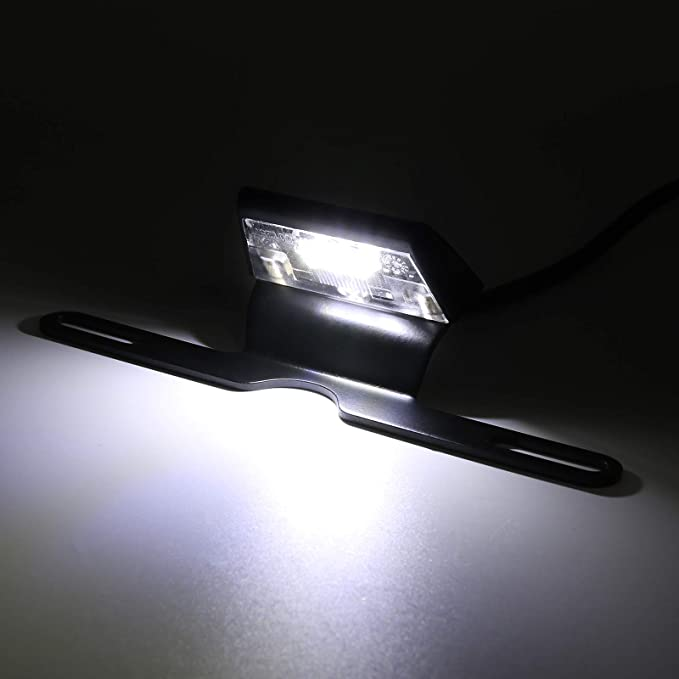1 par Mini LED lámpara de luz de matrícula para Kawasaki ...