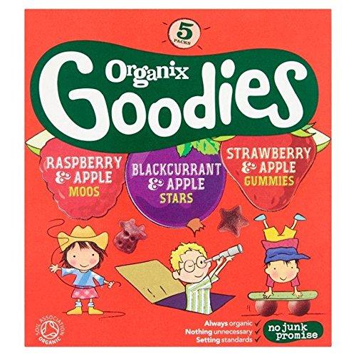 Organix Organic Fruit Gummies Multipack - 5 x 12g (0.13lbs)