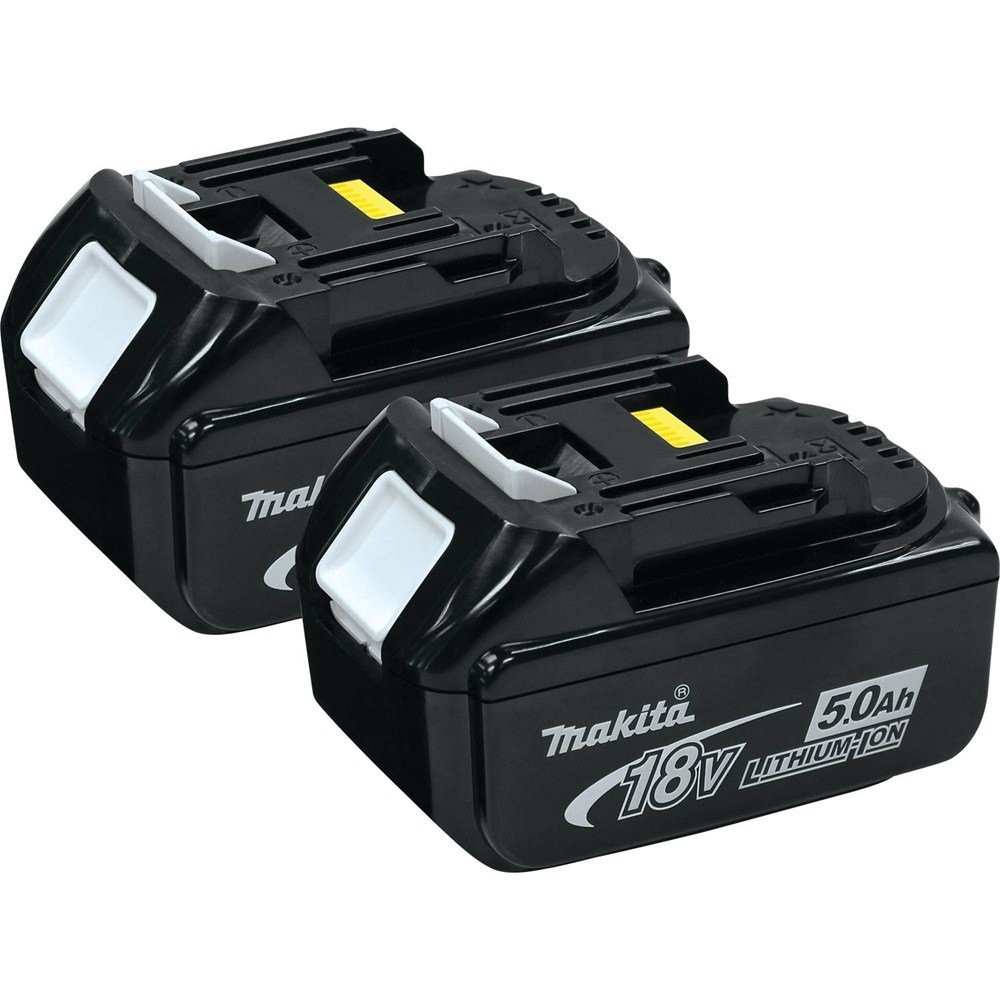 Makita BL1850-2 18-volt LXT Lithium-Ion 5.0Ah Battery, 2-Pack by Makita