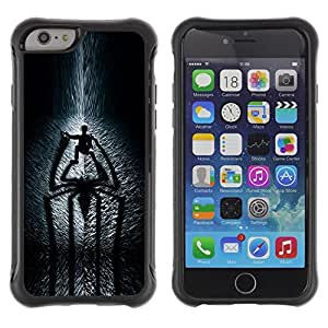 SHIMIN CAO@ Spider Shadow Rugged Hybrid Armor Slim Protection Case Cover Shell For iPhone 6 Plus CASE Cover ,iphone 6 5.5 case,iPhone 6 Plus cover ,Cases for iPhone 6 Plus 5.5