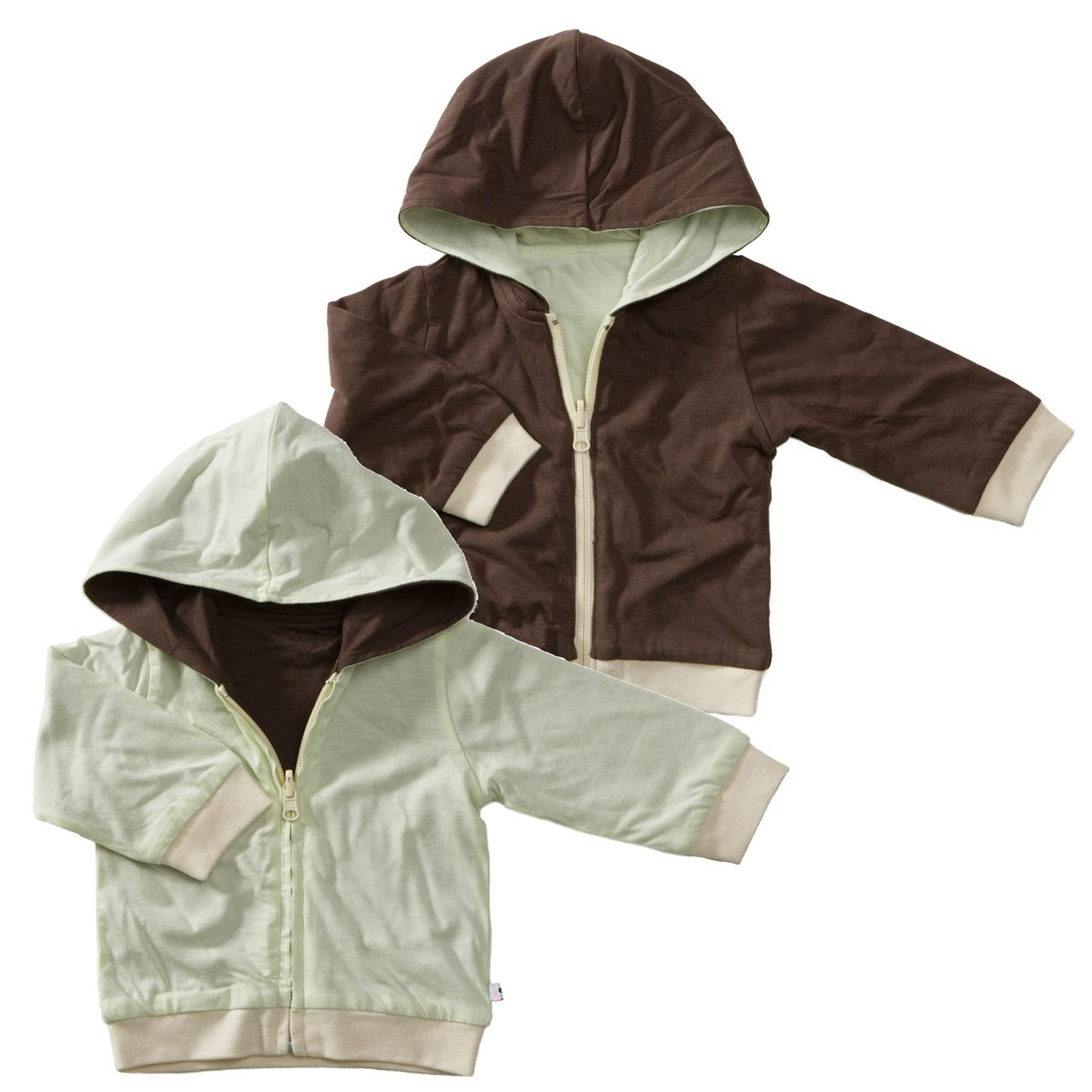 Babysoy Baby Boys' Year Round Reversible Hoodie 23351baby-boys
