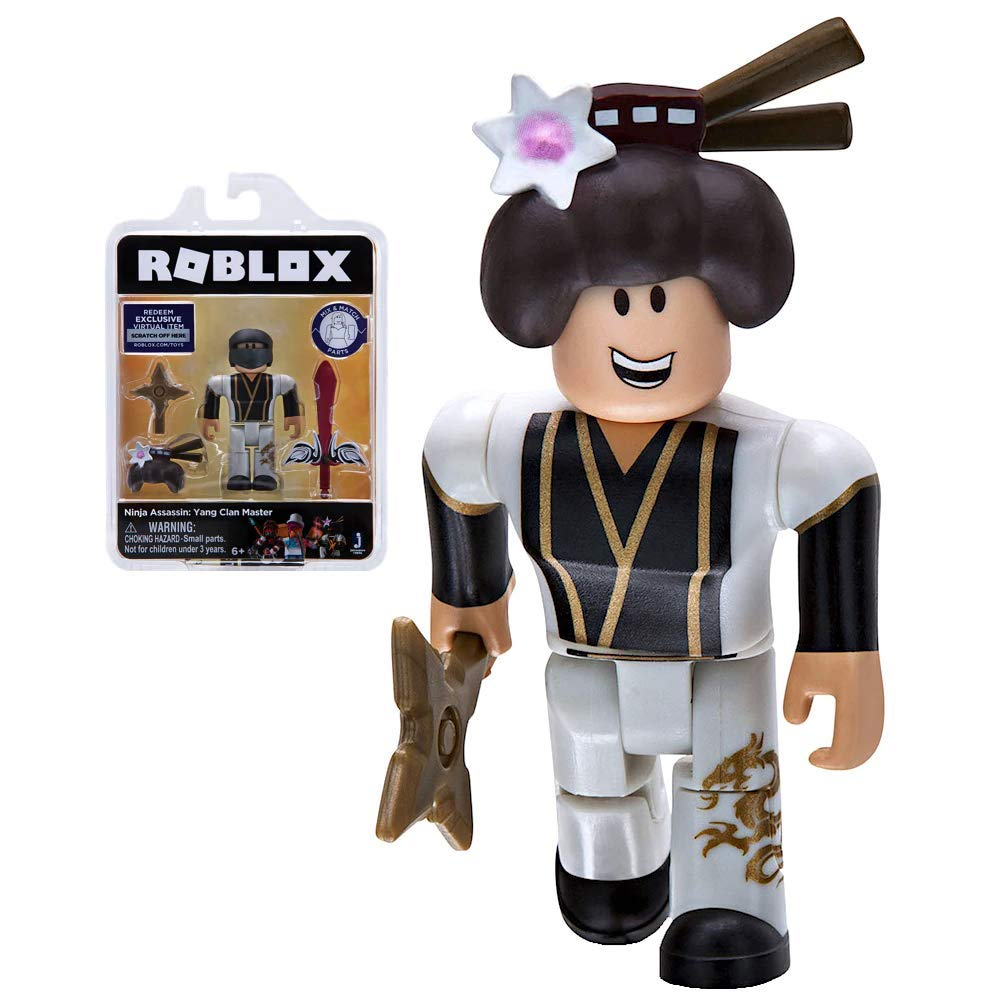 Amazon.com: Roblox Gold Collection Ninja Assassin: Yang Clan ...