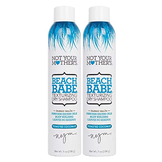 Not Your Mother's 2 Piece Beach Babe Texturizing Dry Shampoo, 14 Ounce Best Dry Shampoo