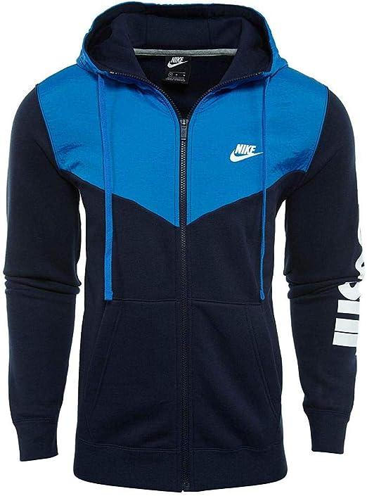 povertà equipaggio Molto bene bene  Nike Hbr+ - Felpa con Cappuccio e Cerniera Intera, da Uomo, Uomo:  Amazon.it: Abbigliamento