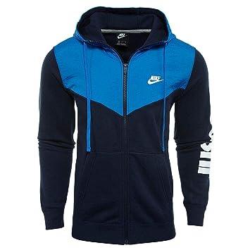 Nike M NSW Hbr+ FZ FLC Chaqueta, Hombre: Amazon.es: Deportes y aire libre