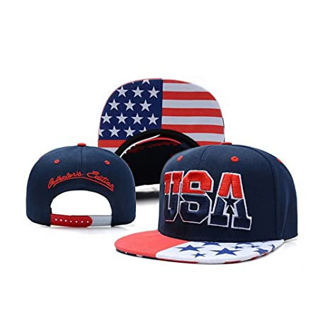 Unisex Hip Hop gorro de bordado Gorra de bandera de Estados Unidos ...