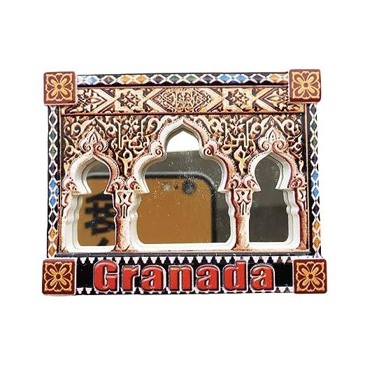 3D Alhambra Granada España Refrigerador Imán de Nevera Recuerdos ...