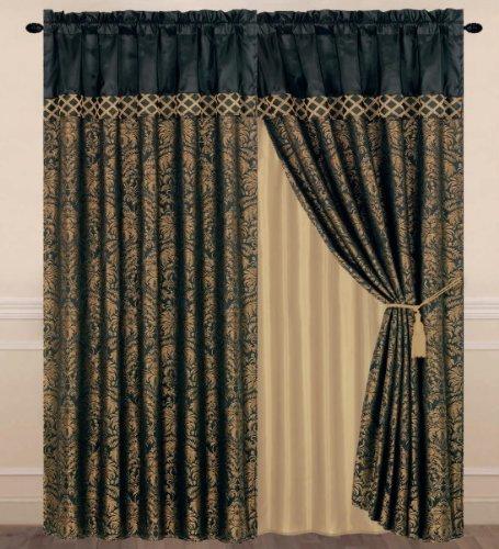 Jacquard Floral Comforter - 5