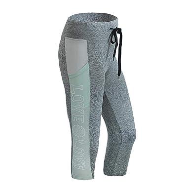 VJGOAL Pantalones de Yoga Estampado Deportivo Pantalones ...