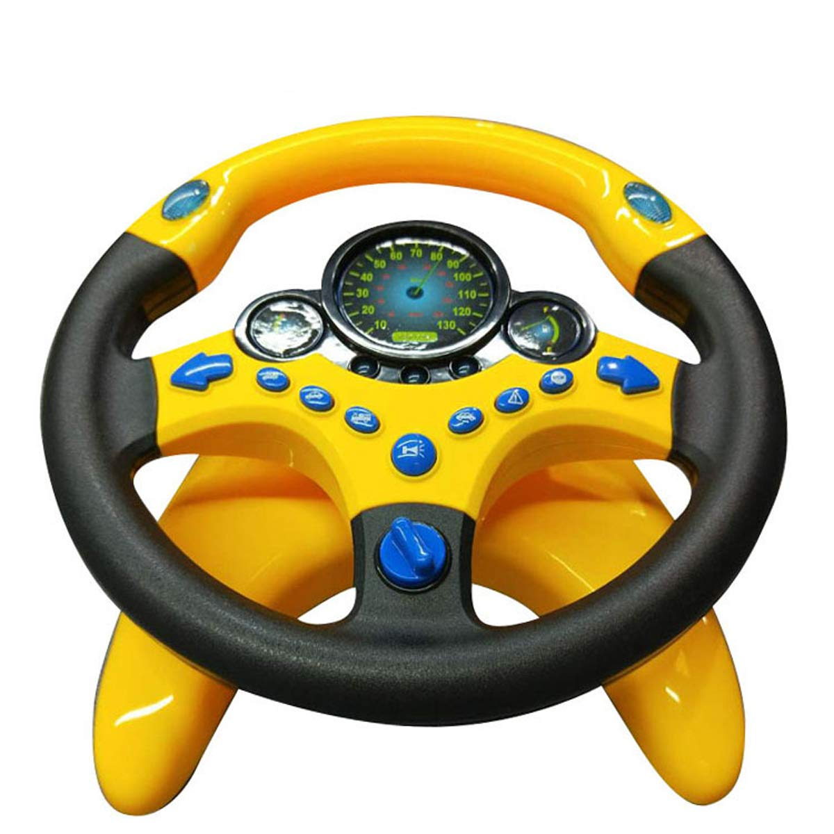 Co-Pilot Toy Steering Wheel with Lights Music