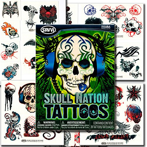 Savvi Skull Nation Tattoos Skulls