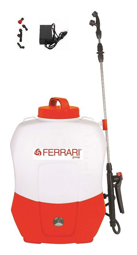 Ferrari Pompa Irroratrice A Zaino A Batteria 12v 20 Lt Pompa Spalla