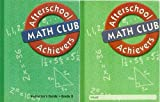 2 Volumes of Afterschool Achievers Math Club Grade 8: Student Workbook & Instructor's Guide