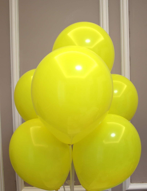 Black 100 pieces BABYJOYBALLOONS 10//11 black latex balloon for party decoration