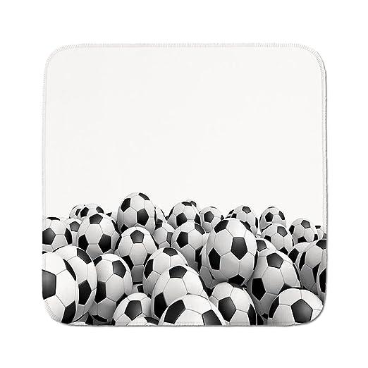 Cozy - Alfombra para Asiento de Coche, Diseño de Balón de Fútbol ...