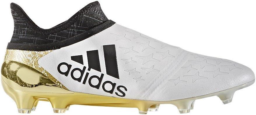 adidas X 16+ Purechaos FG, Chaussure de Foot, White Core