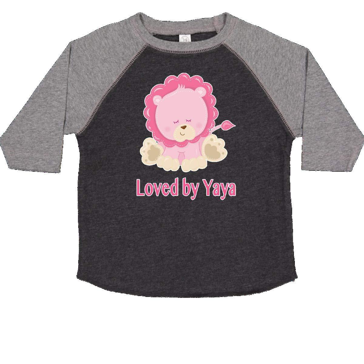 inktastic Loved by Yaya Toddler T-Shirt