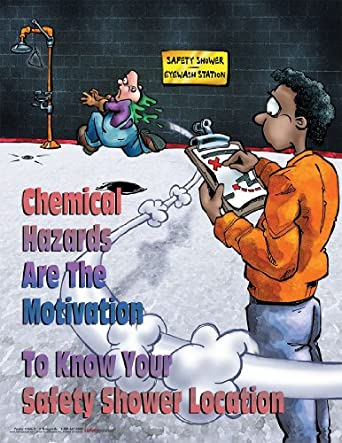 Chemical Hazards Are The Motivation Chemical Safety Poster ...