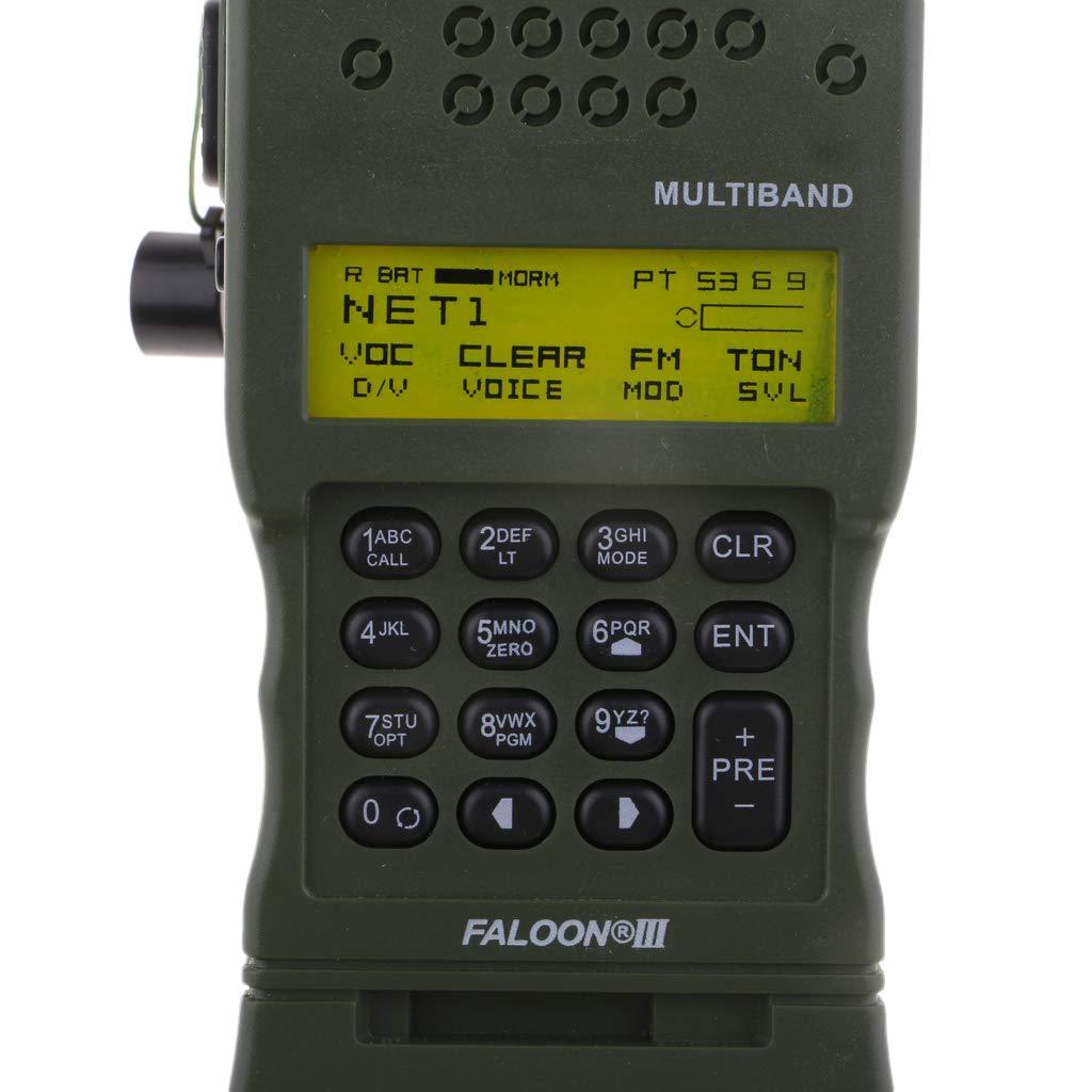 B Blesiya Z Taktischer An//Prc-152 Dummy-Radio-Koffer PRC-152 Dummy-Radio-Modell