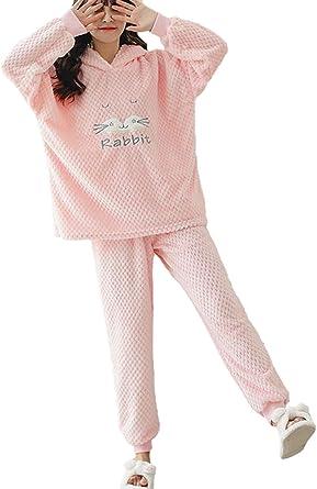Mujer Pijama -Set Elegante e Hipster Cute Cartoon Patrón ...