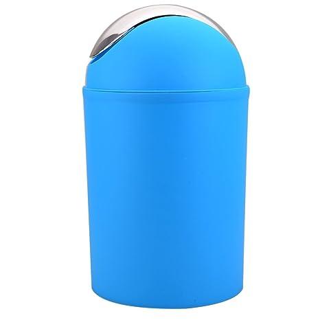 ST @ llion® 6 piezas de plástico de baño juego de accesorios de baño, dispensador de loción, vaso, vaso para cepillo de dientes, jabonera, papelera, ...