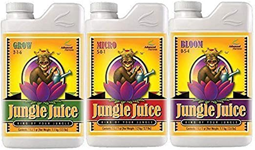 Advanced Nutrients Jungle Juice Bloom, Micro & Grow – 1 Litro de ...