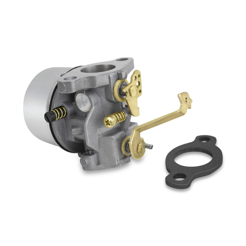 Carburetor for Tecumseh 640338 640174 640274 Fits Ovrm120 Lawnmower Chipper Carb