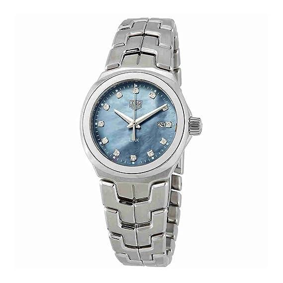TAG Heuer Link Reloj de Mujer Diamante Cuarzo Suizo 32mm WBC1313.BA0600