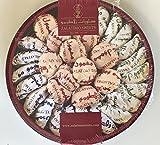 Zalatimo Sweets Assorted Semolina Cookies (Mamoul) in Tin 2.2 lb, 1 Kg