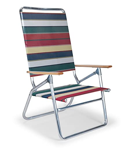 Telescope Casual Light And Easy High Boy Folding Beach Arm Chair, Spencer