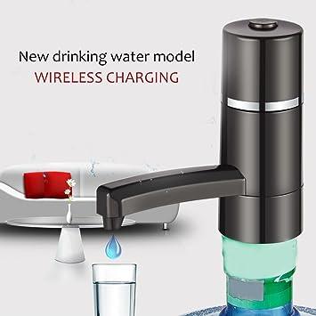 ulable portátil botella de agua dispensador inalámbrico batería eléctrica bomba de agua