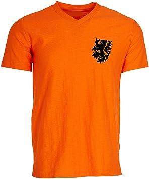 Retro con imágenes de fútbol países Bajos Holanda holandés Fútbol Camisa Camiseta, Camiseta Retro, World Cup 74