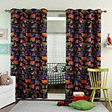 Best Eclipse Home Fashion Thermal Insulated Blackout Tie-up Window Shades - Best Home Fashion Room Darkening Trucks Print Curtains Review