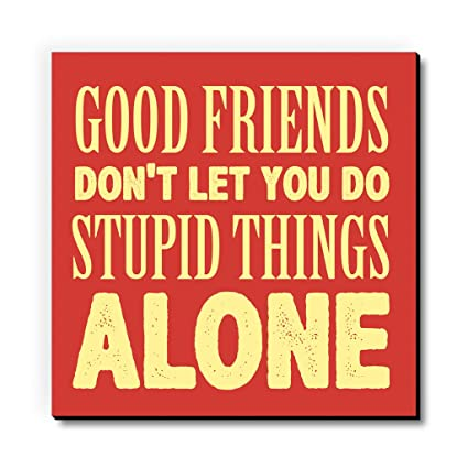 Food Friends Stupid Things Fridge Magnet/Multipurpose Magnet for Home/Kitchen / Office by Seven Rays