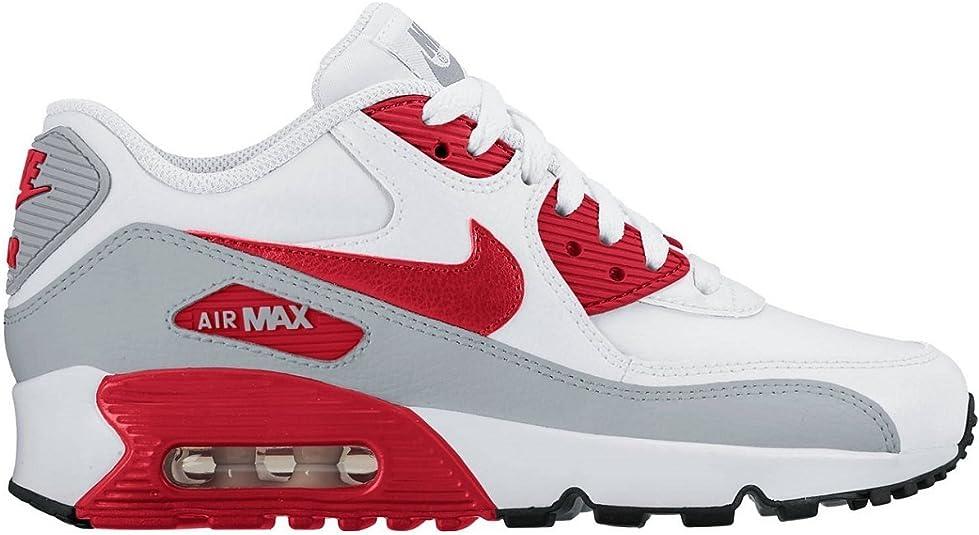 Nike Air Max 90 Leather (GS) Shoe, Baskets Basses Mixte Enfant