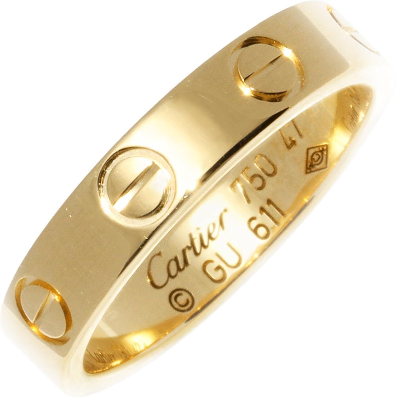 [カルティエ]Cartier K18YG ミニラブリング 指輪 #47(7号) B40850 中古 B07CLPVH14