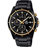 Casio Edifice Chronograph Black Dial Men's Watch - EFR-526BK-1A9VUDF (EX208)