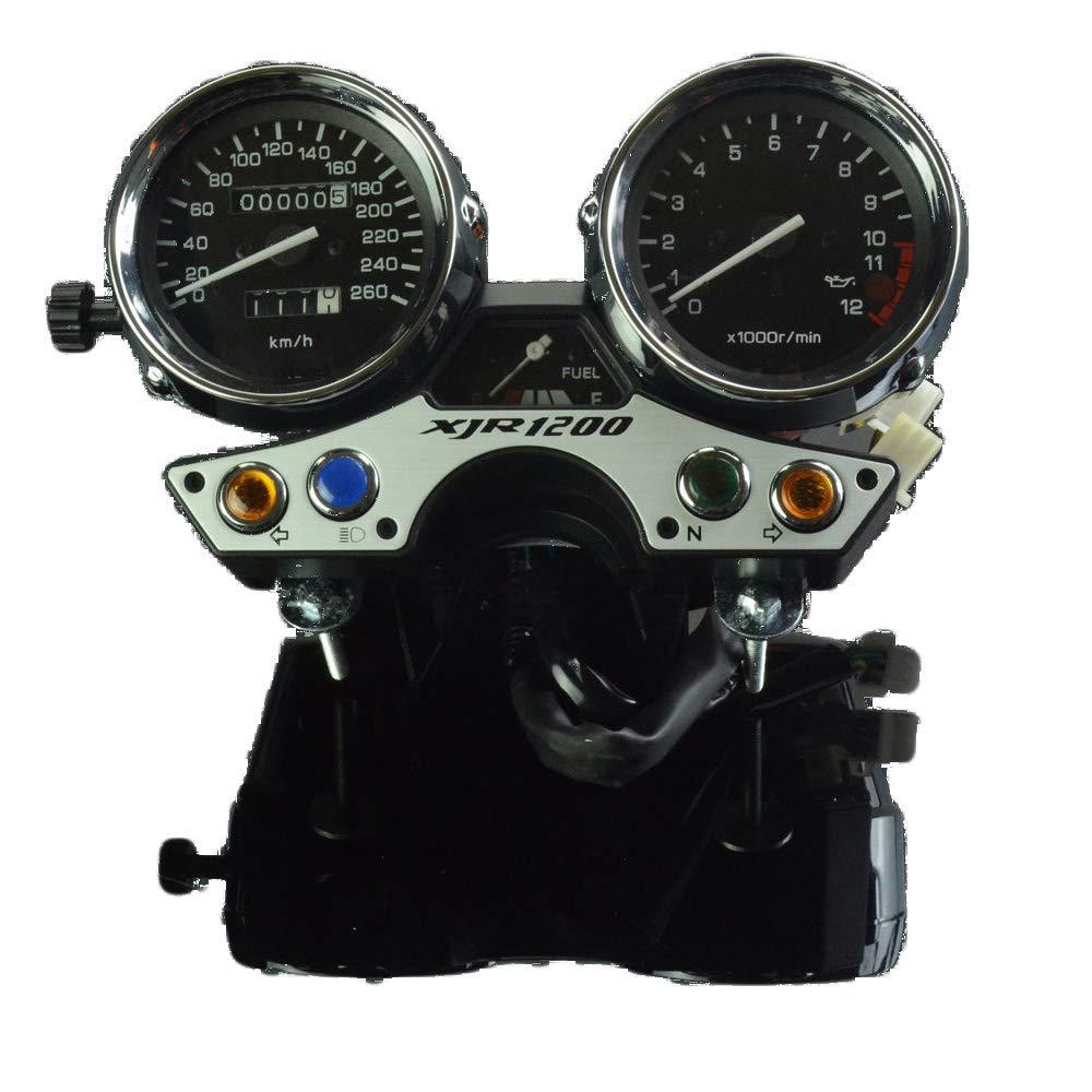 Moto Yamaha tachym/ètre Odom/ètre Instrument Jauge de Compteur de Vitesse Cluster M/ètre pour Yamaha XJR 1200 1994-1997 Les 260 Moto