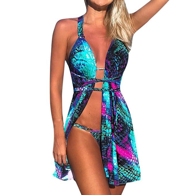 Vestidos para Traje De Baño De Colores Playa Bikinis ...