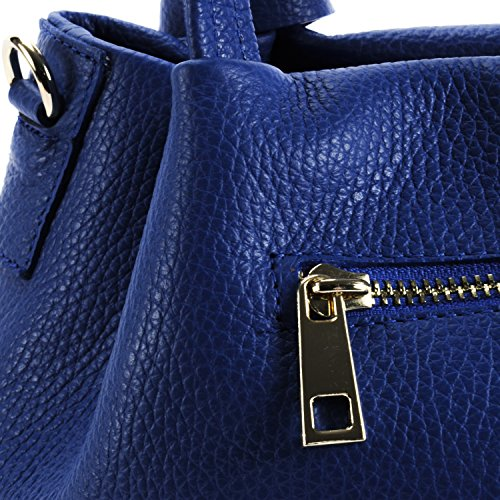 Main Modèle à OH cuir MY Bubble BAG Sac Bleu Roi femme tq00wIcxHr