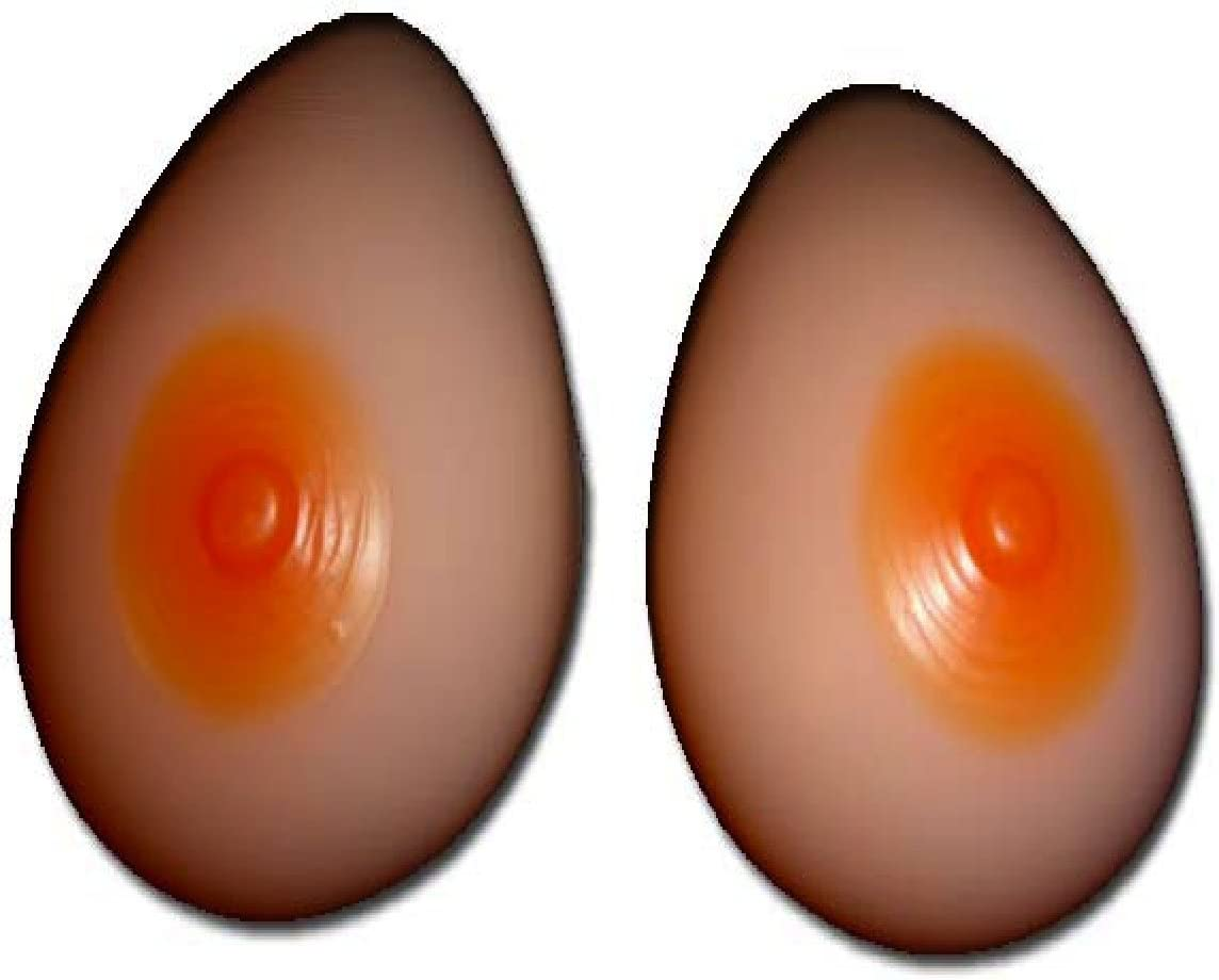 ENVY BODY SHOP Silicone Breast Form Mastectomy Transvestite F G