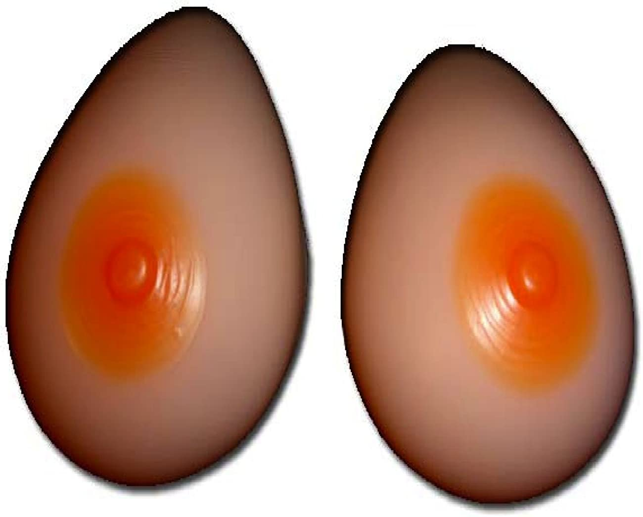 Envy Body Shop Silicone Breast Forms M 600g Size 34C//36B//38A