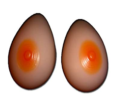 1fd3f79507 ENVY BODY SHOP Silicone Breast Forms Mastectomy Size 8 36dd 38d 40c