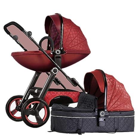 Sillas de paseo Cochecitos de dos vías para la moda Cochecitos para bebés 2 en 1 ...