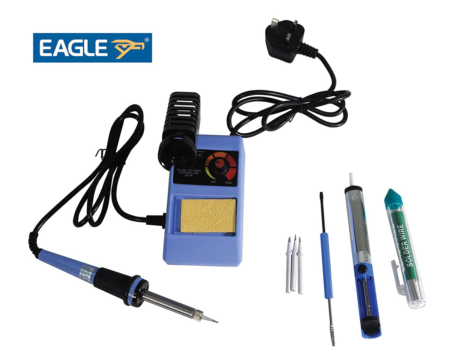 Eagle 48W Adjustable Temperature Controlled Soldering Station Kit Y061RB